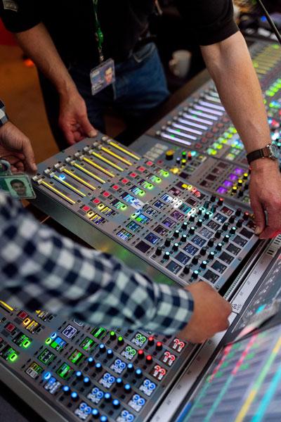 virtual band sound check