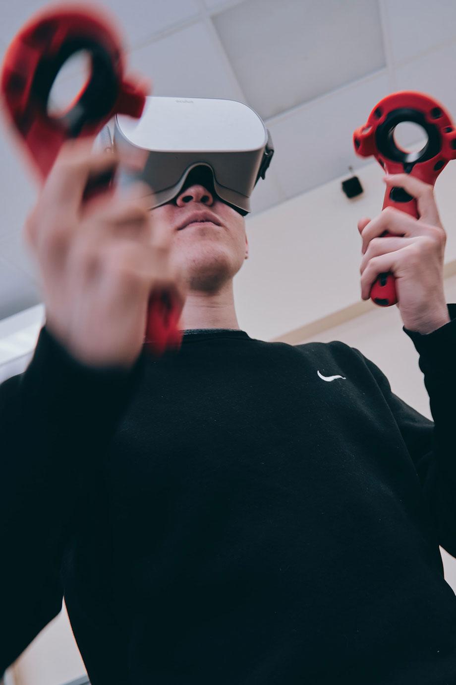 playing games as virtual training