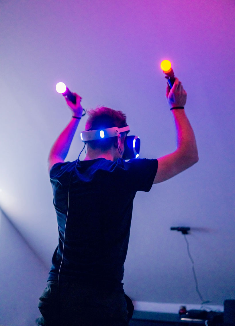 exploring virtual reality is